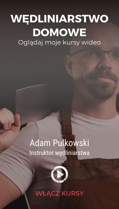 Wędliniarstwo domowe z Adamem Pulkowskim - kursy wideo